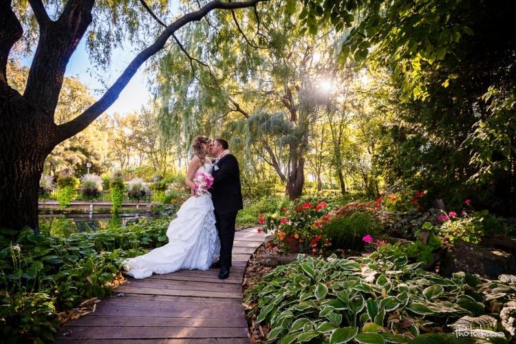 photographe de mariage professionnel photo prise dans un vignoble à st-eustache dans les laurentides sur la rive-nord de montréal au centre de la nature à laval
