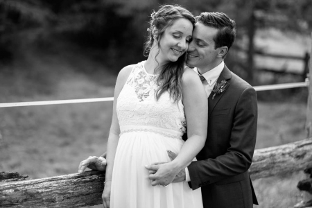 photo de mariage rusitique grange pinterest extérieur naturelle