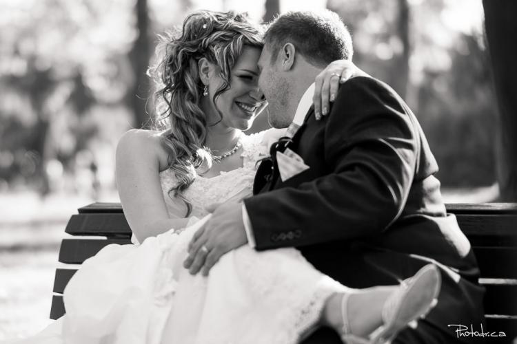 session photo de couple de mariage au centre de la nature à laval prix tarif forfait