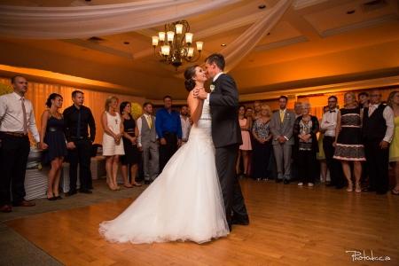 première danse de mariage au golf quatre domaines à blainville dans les laurentides